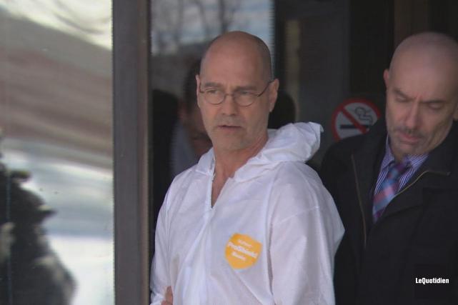 Luc Hamel, 57 ans, est accusé du crime... (Archives Le Quotidien)