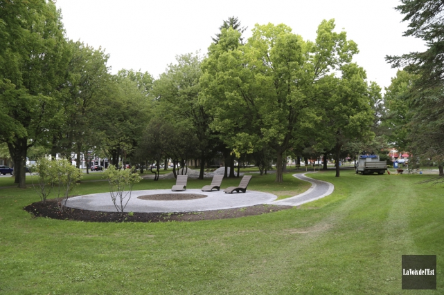 La transformation annoncée du parc Pelletier s'accélérera cet... (Janick Marois, La Voix de l'Est)