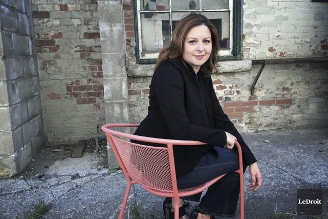 LA GRANDE ENTREVUE / La journaliste et coanimatrice de l'émission d'affaires... (Etienne Ranger, LeDroit)