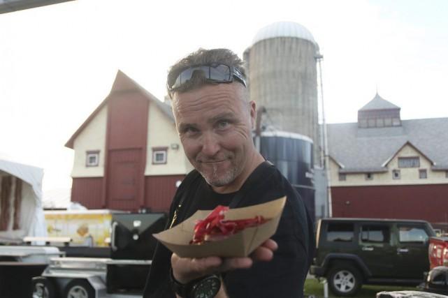Michael Blackie du restaurant NeXT, à Stittsville, est... (Etienne Ranger, LeDroit)