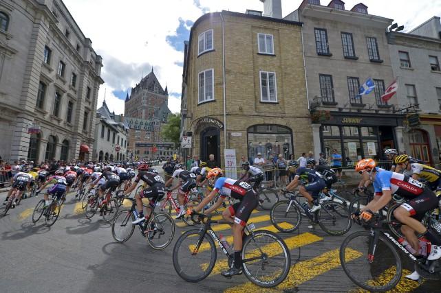 Le patron du Tour de France, Christian Prudhomme,... (Le Soleil, Yan Doublet)