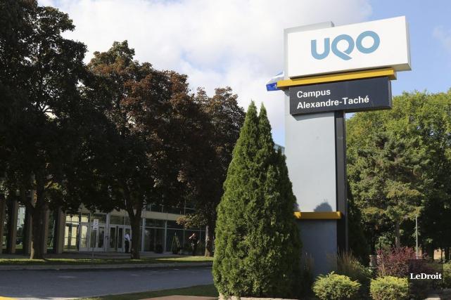 Les événements de la semaine dernière à l'UQO... (Patrick Woodbury, Archives LeDroit)