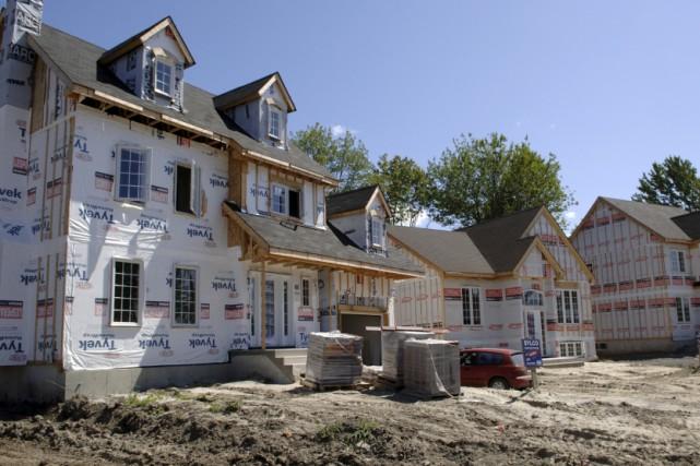 Selon la Société canadienne d'hypothèques et de logement (SCHL), la tendance... (Archives La Presse)