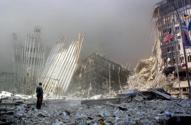 La commémoration des attentats du 11 septembre 2001... (Agence France-Presse)