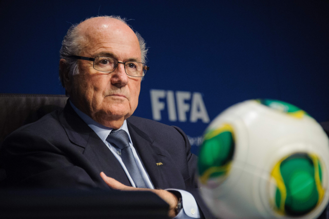 L'ex-président de la FIFA, Sepp Blatter... (Photo archives AFP)