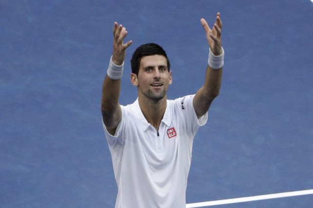 Novak Djokovic en sera à une 21e finale... (Seth Wenig, Associated Press)