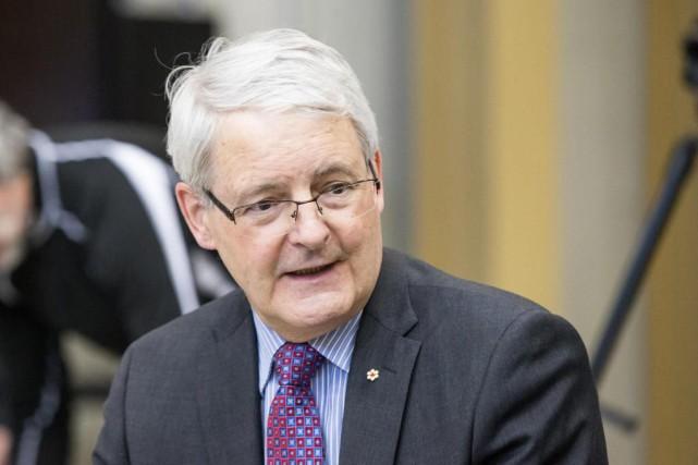 Le ministre des Transports du Canada, Marc Garneau,... (PHOTO HUGO-SÉBASTIEN AUBERT, ARCHIVES LA PRESSE)
