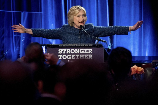 Hillary Clinton... (PHOTO Andrew Harnik, AP)