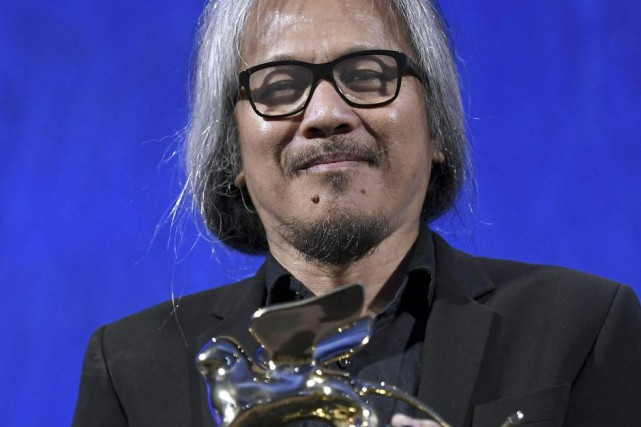 Lav Diaz... (Photo AP)