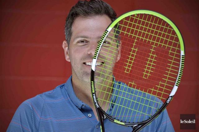 À la demande de Tennis Canada, nouveau propriétaire... (Le Soleil, Pascal Ratthé)