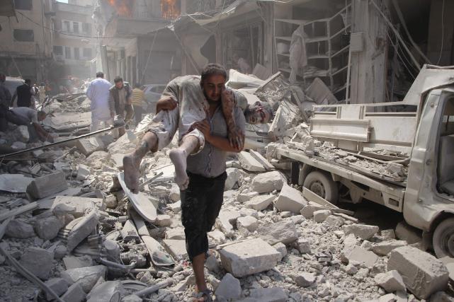 L'annonce de cette trêve après des semaines de... (PHOTO AFP)