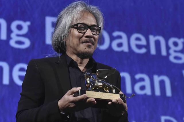 Lav Diaz a été récompensé pour The Women... (AFP, Tiziana Fabi)