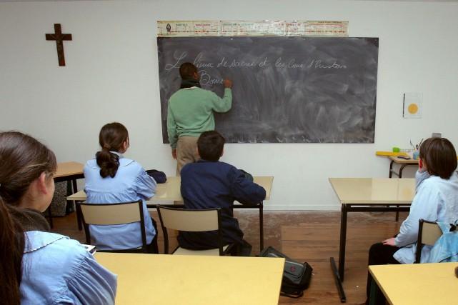 Le cours Éthique et culture religieuse empêche présentement... (Archives AFP)