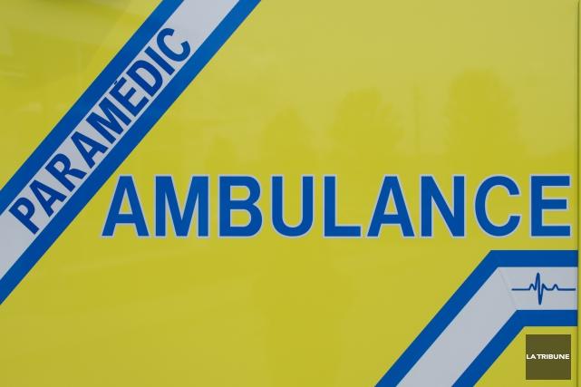 Ambulance, Paramedic, Ambulance de l'estrieImacom: Julien Chamberland... (La Tribune archives)