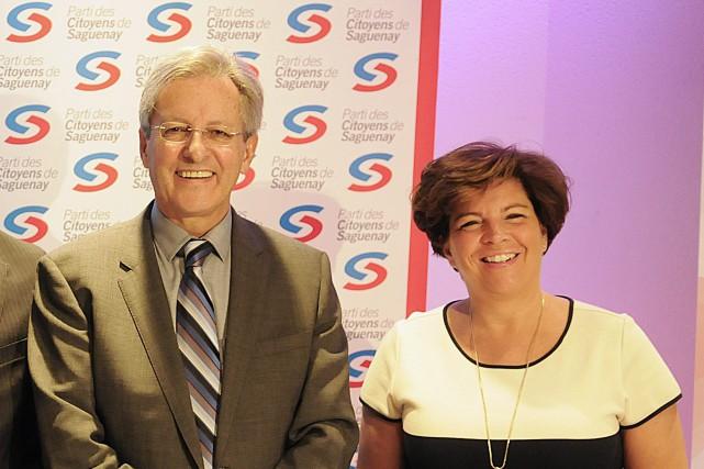 La vice-présidente du Parti des citoyens de Saguenay... (Archives Le Progrès-Dimanche, Mariane L. St-Gelais)
