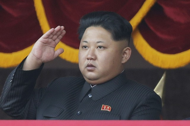 Kim Jong Un... (Photo Wong Maye-E, archives Associated Press)