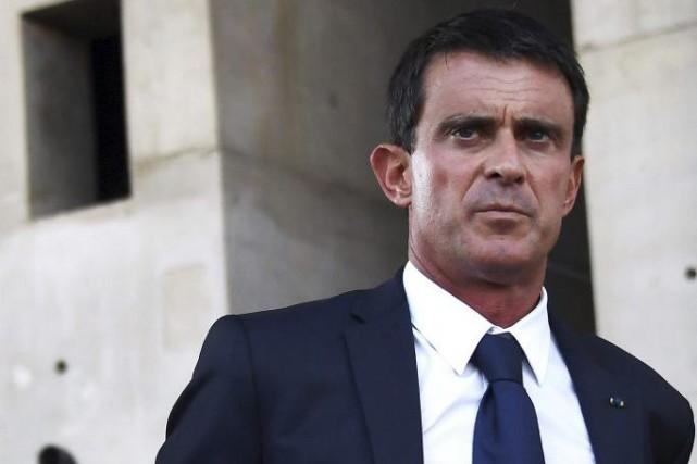 Manuel Valls... (PHOTO ANNE-CHRISTINE POUJOULAT, AGENCE FRANCE-PRESSE)