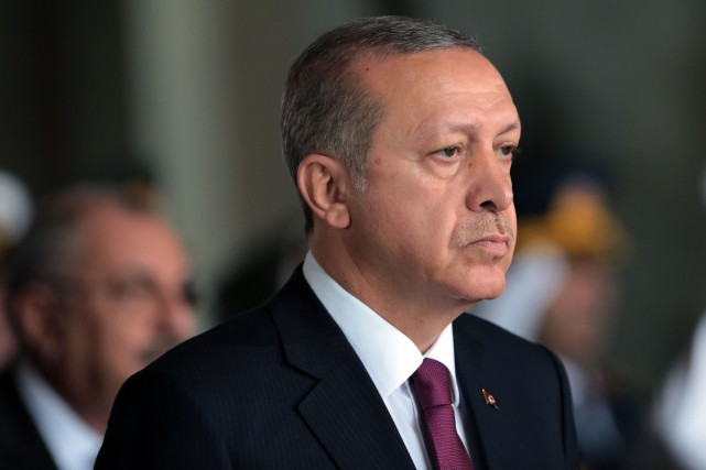 Recep Tayyip Erdogan... (Photo Burhan Ozbilici, archives Associated Press)