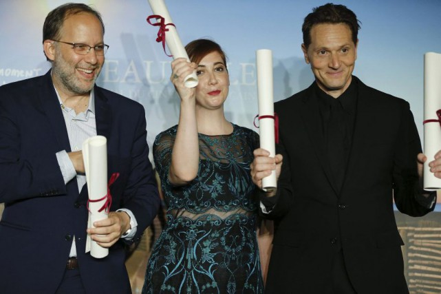 Ira Sachs (Brooklyn Village), Anna Rose Holmer (The... (PHOTO CHARLY TRIBALLEAU, AFP)