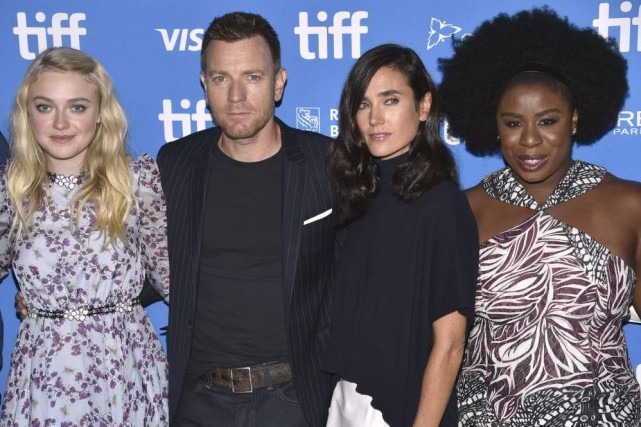 Dakota Fanning, Ewan McGregor, Jennifer Connelly et Uzo... (PHOTO Evan Agostini, AP)