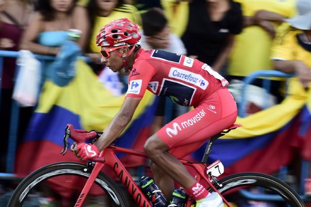 Quintana, 26 ans, est le deuxième Colombien à... (AFP)