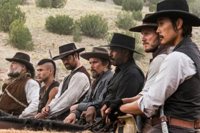 Les sept mercenairesd'Antoine Fuquasort le 23 septembre au... (Fournie par Columbia)
