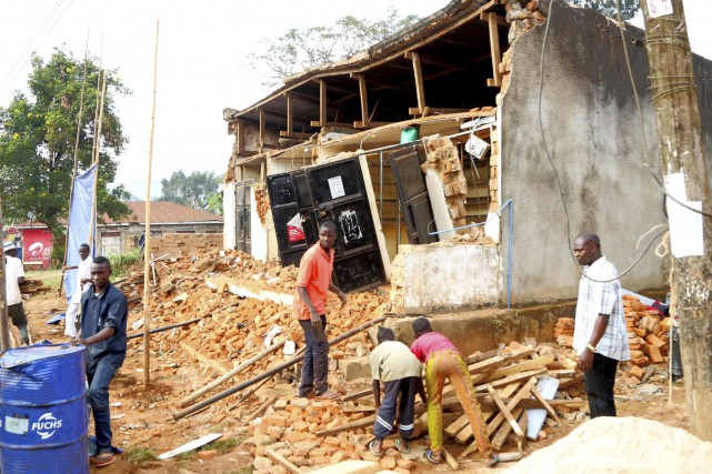 Un séisme, d'une magnitude de 5,7 sur l'échelle... (AFP)