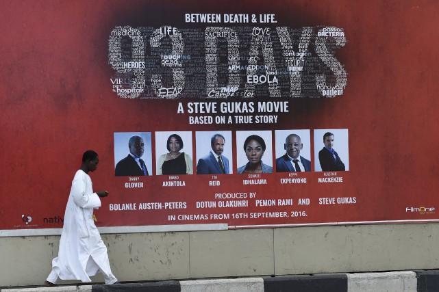 93 jours, cette superproduction attendu de Nollywood, le... (AFP, Pius Utomi Ekpei)