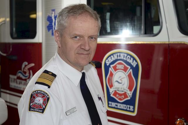 François Lelièvre, directeur du service de Sécurité incendie... (Sylvain Mayer)