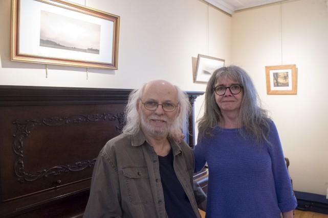 Robert Mayrand et Renée Frigon... (Stéphane Lessard)
