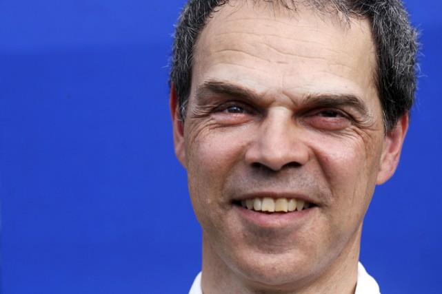 Bien que Tony Labillois soit presque complètement aveugle,... (Simon Séguin-Bertrand, LeDroit)