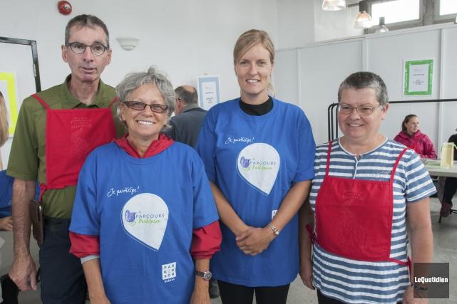 Les organisateurs sont satisfaits de la nouvelle formule... (Photo Le Quotidien, Michel Tremblay)