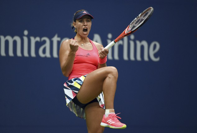 Angelique Kerber... (AFP, Timothy A. CLARY)