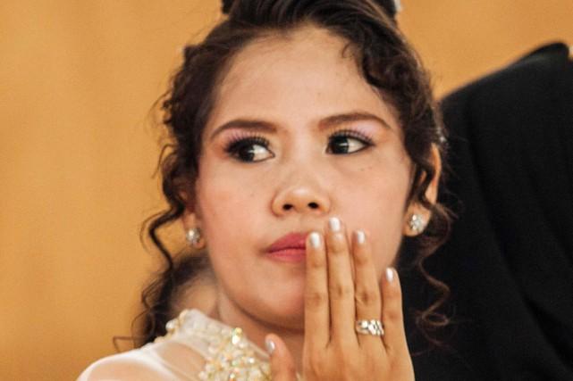 Mary Jane Veloso avait été arrêtée en 2009... (photo SURYO WIBOWO, archives AFP)