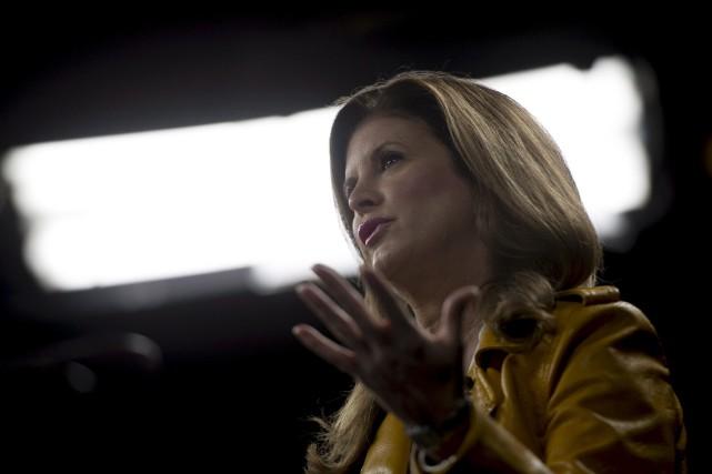 La chef par intérim du Parti conservateur, Rona... (La Presse Canadienne)