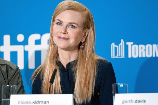 Nicole Kidman a répondu aux questions des journalistes... (PHOTO LA PRESSE CANADIENNE)