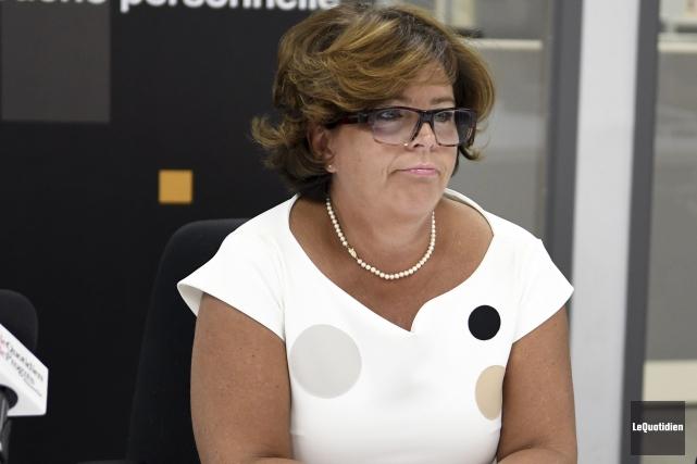 Vice-présidente du Parti des citoyens de Saguenay et... (Photo Le Quotidien, Marianne L. St-Gelais)