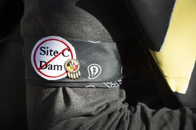 La contestation judiciaire d'un projet de barrage hydroélectrique en... (Photo La Presse Canadienne)