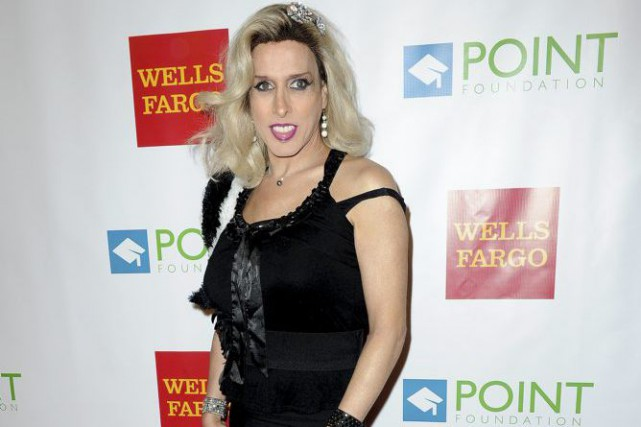 Alexis Arquette en septembre 2014.... (PHOTO ARCHIVES AFP)