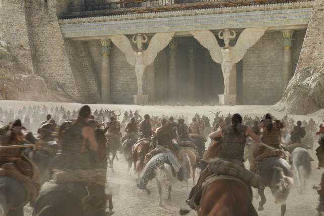 Le studio montréalais Rodeo FX continue de briller sur la scène artistique... (PHOTO Game of Thrones Season 6 © HBO)