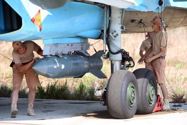 Afin d'éviter qu'une rencontre entre avions américains et... (ARCHIVES AFP)