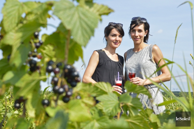 Les soeurs Anne et Catherine Monna, copropriétaires de... (Photothèque Le Soleil, Yan Doublet)
