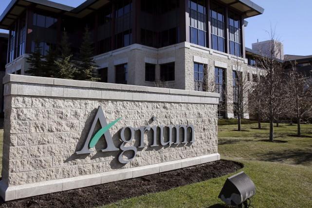 L'achat d'Agrium - dont le siège social se... (La Presse canadienne, Larry MacDougal)