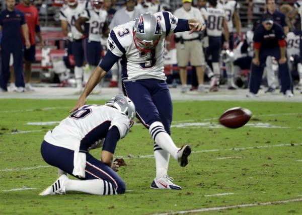 Les Patriots sont revenus de l'Arizona avec une... (Associated Press)