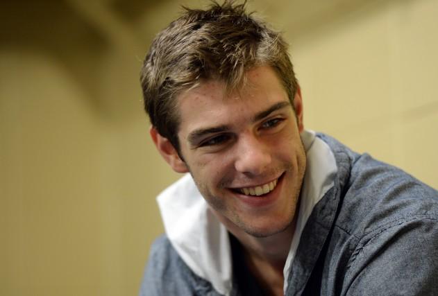 Michaël Bournival peut enfin sourire. Il amorcera le... (Le Soleil)