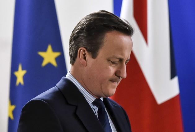 David Cameron avait démissionné de ses fonctions de... (AFP, Philippe Huguen)