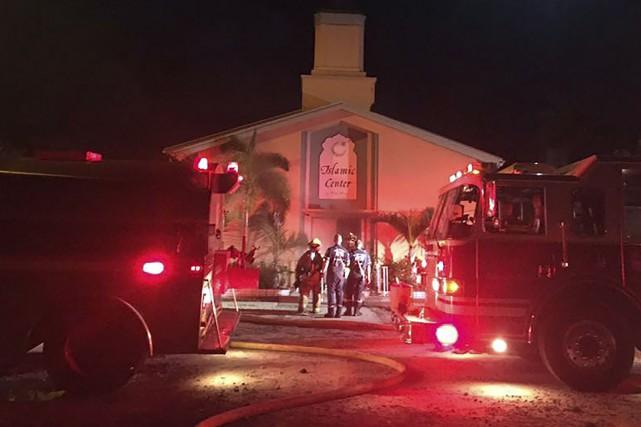 Les pompiers ont mis près de cinq heures... (AFP)