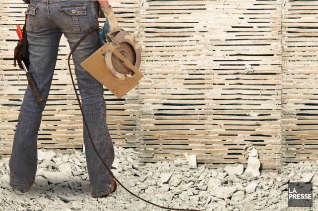 La popularité des téléréalités de rénovation est loin de s'essouffler et cet... (Photomontage La Presse)