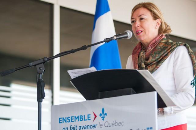 Dominique Vien, ministre du Tourisme.... (Le Nouvelliste, Olivier Croteau)