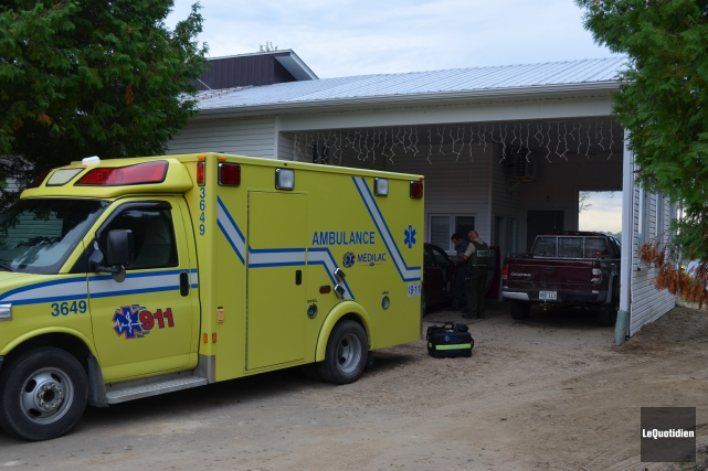 Un homme de 73 ans de Saint-Félicien meurt... (Photo le Quotidien, Louis Potvin)